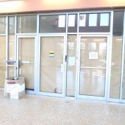 The view of the old Ward Chipman Library entrance    Photo: Jessica Raven